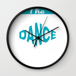 The Legendary Dance Teacher Retirement Gift Design Wall Clock