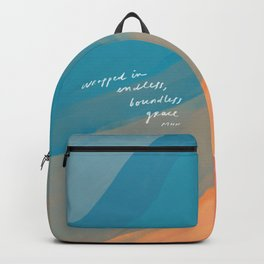 wrapped in endless, boundless grace Backpack