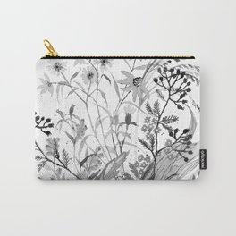 Joy Black & White Carry-All Pouch