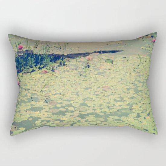 Still Waters Rectangular Pillow
