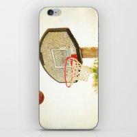 basketball iPhone & iPod Skins featuring Basketball by KimberosePhotography
