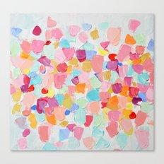 Amoebic Confetti No. 2 Canvas Print