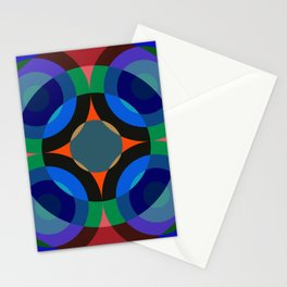 Blosomah - Colorful Abstract Art Stationery Cards