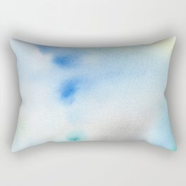 Abstract Watercolor Rectangular Pillow