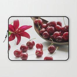 Fresh cherries straight from the tree Laptop Sleeve