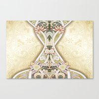 vintage floral Canvas Prints featuring Vintage Floral by Robin Curtiss