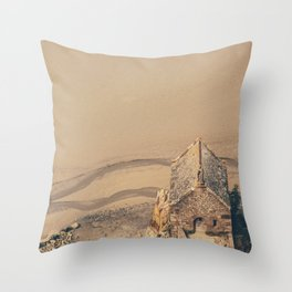 Mont Saint-Michel Throw Pillow
