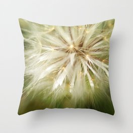 Flower of wishes Throw Pillow
