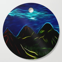 Midnight Mountains Cutting Board