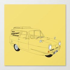 Only Fools and Horses Robin Reliant Canvas Print
