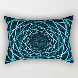 Optical Illusion Of Squares Rectangular Pillow