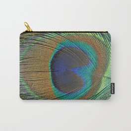 Rainbow feather Carry-All Pouch