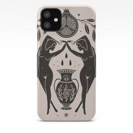 Persephone - Black iPhone Case
