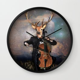 The Musican - Vinolocello Wall Clock