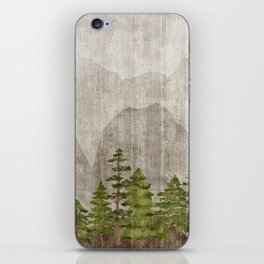 Mountain Range Woodland Forest iPhone Skin
