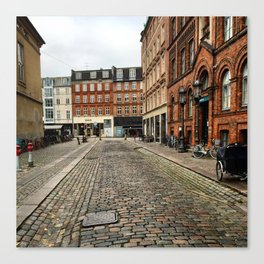 Welcome to Vesterbro Canvas Print