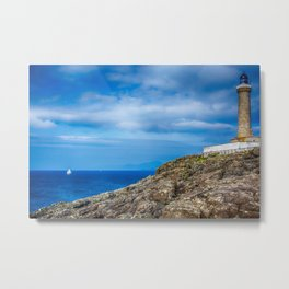 Ardnamurchan Lighthouse 2 Metal Print