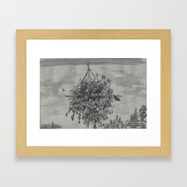 Window Study I Framed Art Print
