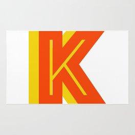 Letter K Rug
