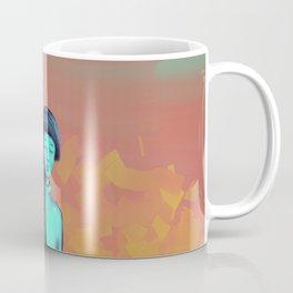Demons Stalking Blue Girl Coffee Mug