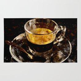 Espresso - watercolor Rug