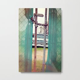 Locked in Time Metal Print