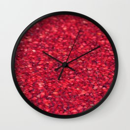 Cranberry Bog Wall Clock