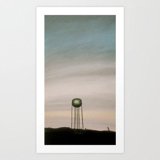 Cisco, TX Art Print