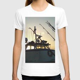 Fishing At Dawn T-shirt