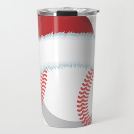 Funny Christmas I Baseball Sports Ball Travel Mug