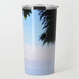 View of Caribbean Sea in Ocho Rios Jamaica Travel Mug