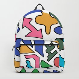 Colourful shapes Backpack