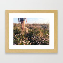 Our Planet is in Peril Framed Art Print