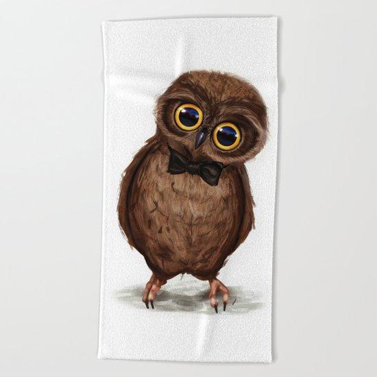 Owl III Beach Towel