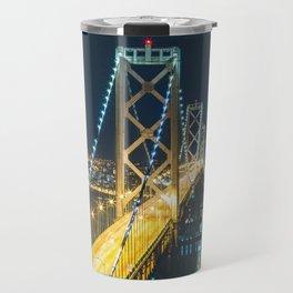 Bay Bridge Long Exposure - San Francisco, California Travel Mug