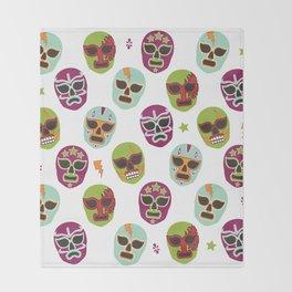 Máscaras Throw Blanket