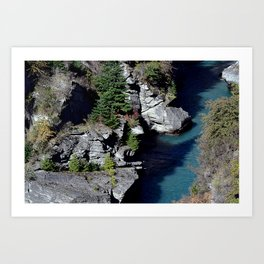 Arthur's point Art Print