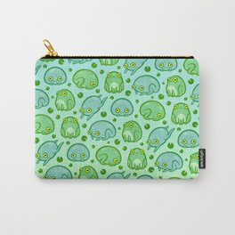 Friendly Frogs Carry-All Pouch