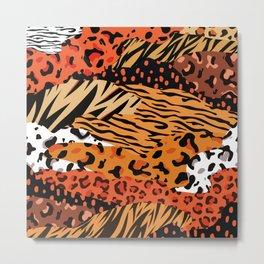 Animal Kingdom African Hide pattern Metal Print