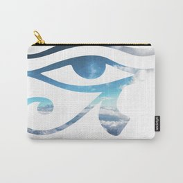 Eye of Horus Sky Background Carry-All Pouch