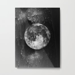 the moon, the end Metal Print
