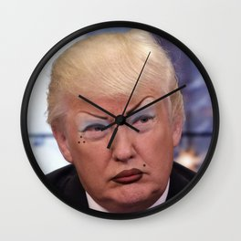 Chola Trump Wall Clock