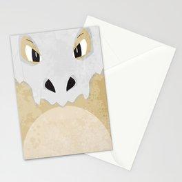 Minimalist Cubone Stationery Cards