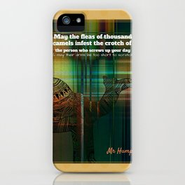 Mr Hump iPhone Case