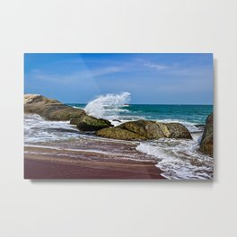 Beaches of Sri Lanka Metal Print