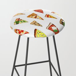 Pizza Pattern Bar Stool
