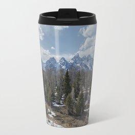 Grand Tetons from Schwabacher Road Travel Mug