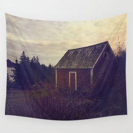 Red Barn Wall Tapestry