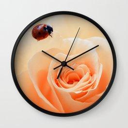 tender happiness Wall Clock