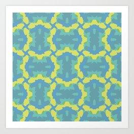 Mt Symmetry Art Print